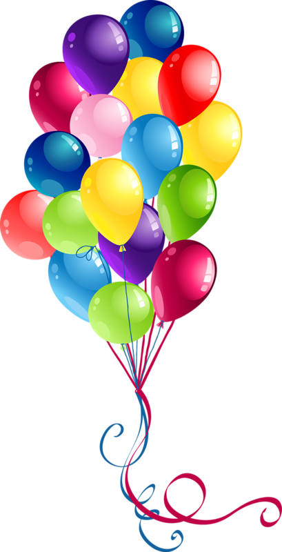 Happy Birthday Balloons Just For You Wishing A Pleasant Day On Your Do Something FUN I Mean It