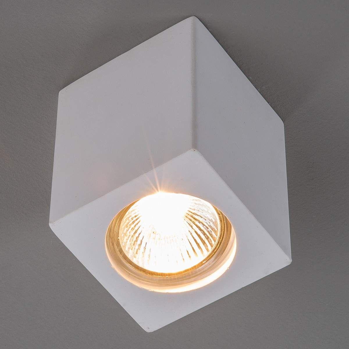 Gips Downlight Anelie Für Gu10 Lampe Höhe 11 Cm In 2020