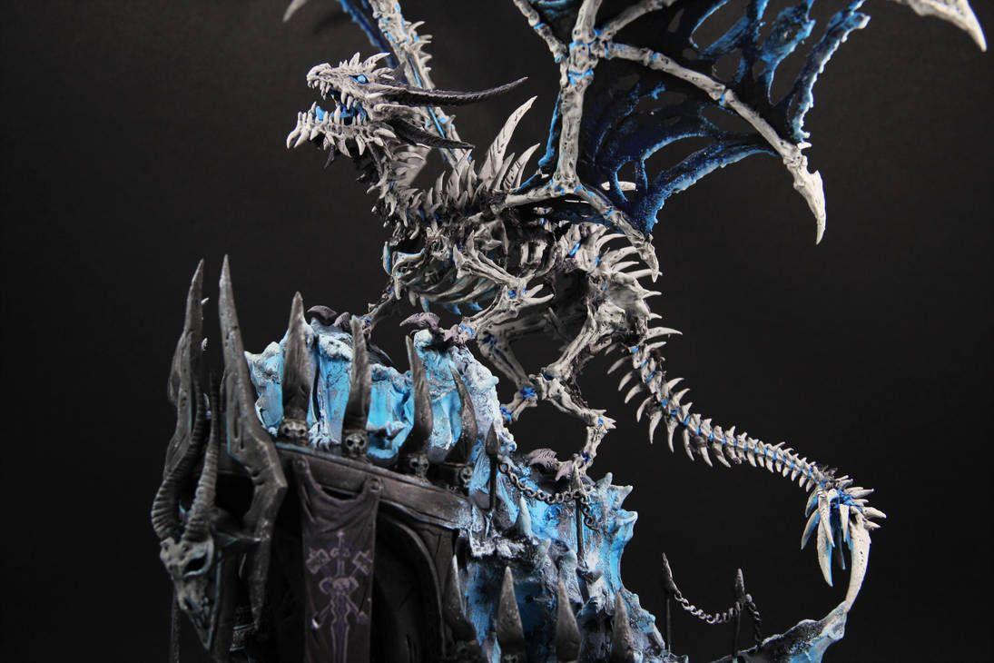 Sindragosa World Of Warcraft By Colibriworkshop World Of Warcraft Warcraft Mythical Creatures