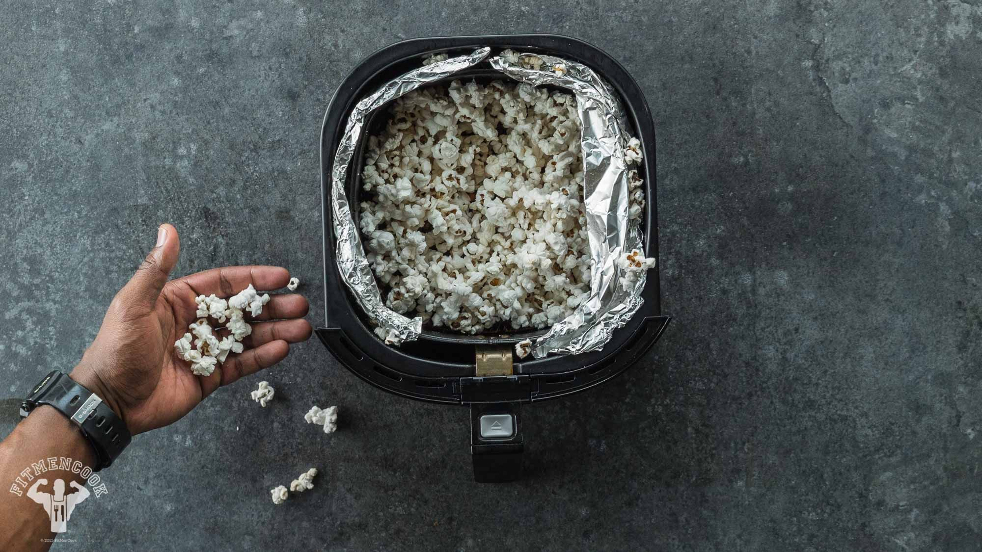 air fried popcorn Air fryer healthy, Air fryer recipes