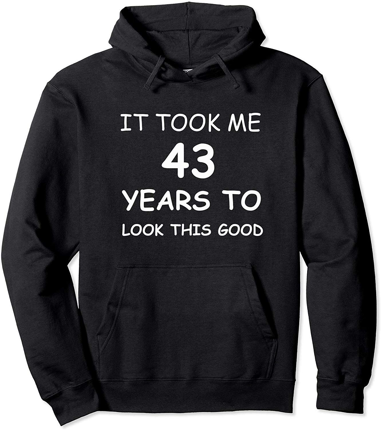 43 year old birthday gifts for men 43 rd tshirthoodie