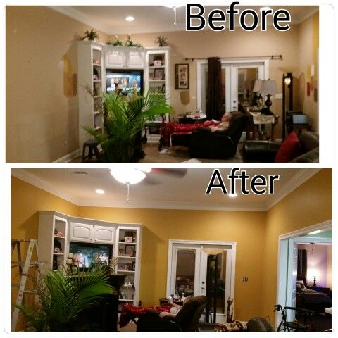 Painted My Living Room Amber Brew Is Color By Behr Marquee Pain