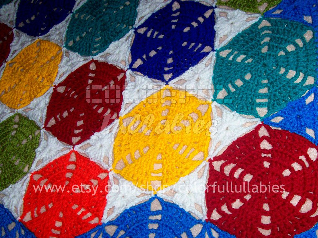 Crochet hexagon and triangle blanket pattern granny hexagon crochet hexagon and triangle blanket pattern granny hexagon afghan pattern granny triangle hexagon blanket crochet pattern bed blanket bankloansurffo Image collections