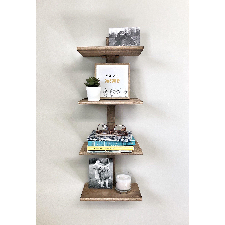 Adjustable Shelf Unit Wall Shelf Nursery Shelf Picture Ledge Shelf Wooden Shelves Bookshelves Floating Shelf In 2020 Wall Shelving Units Wooden Shelves Wall Shelves