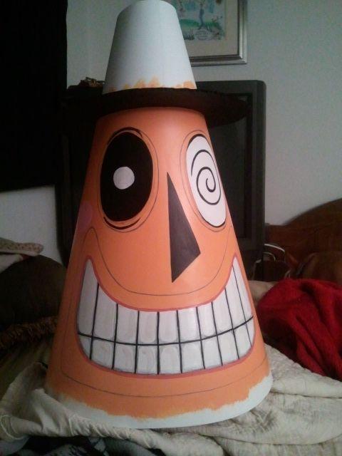 diy nightmare before christmas halloween props life size diy mayor of halloween town prop