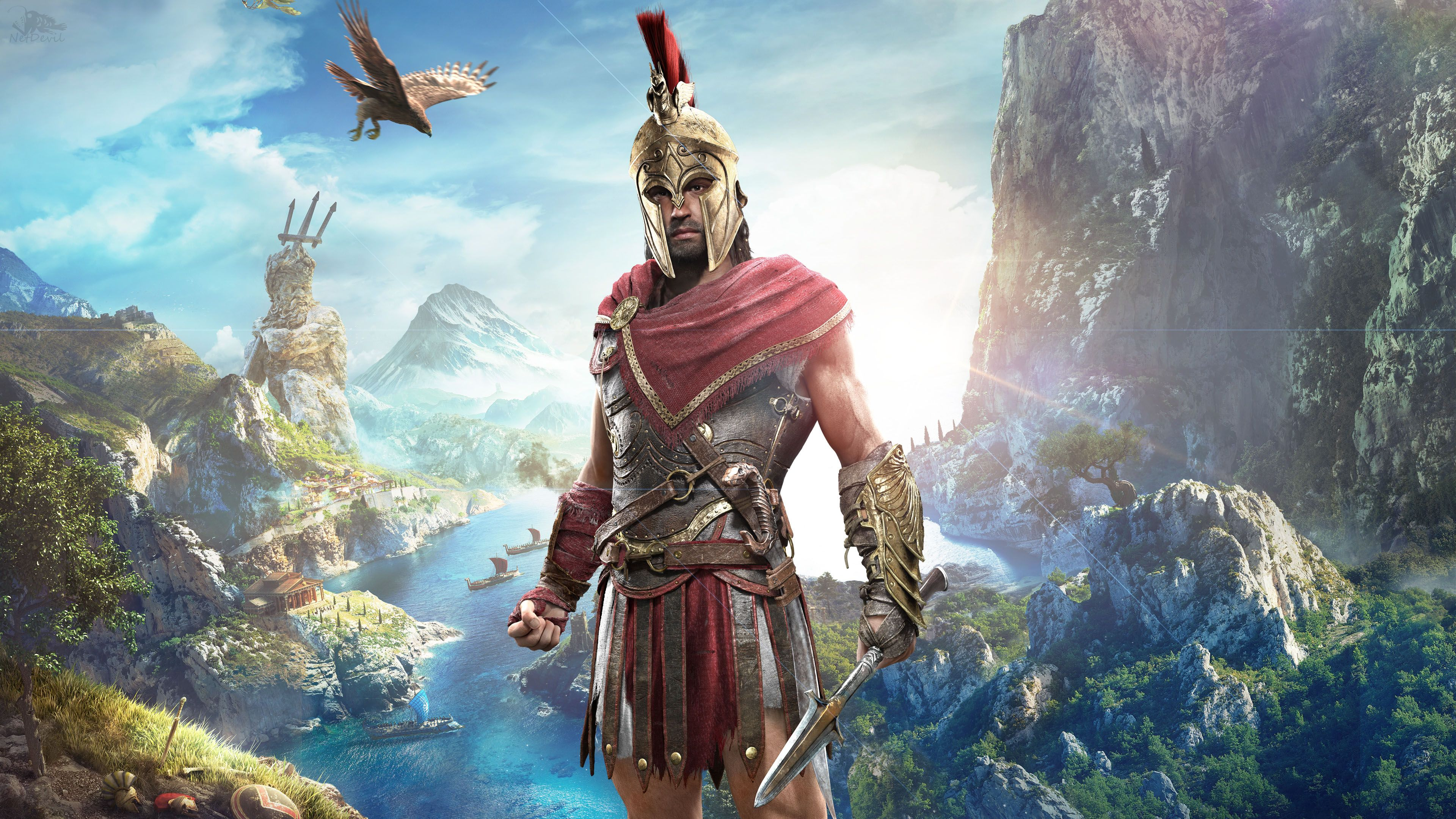 Alexios in Assassin's Creed Odyssey 4K Assassins creed