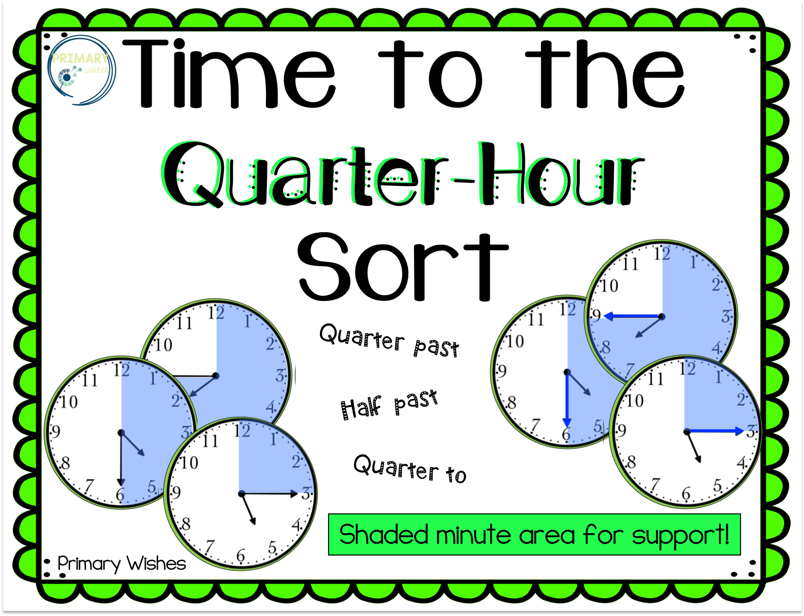 Great Way To Help Struggling Students With Quarter Past