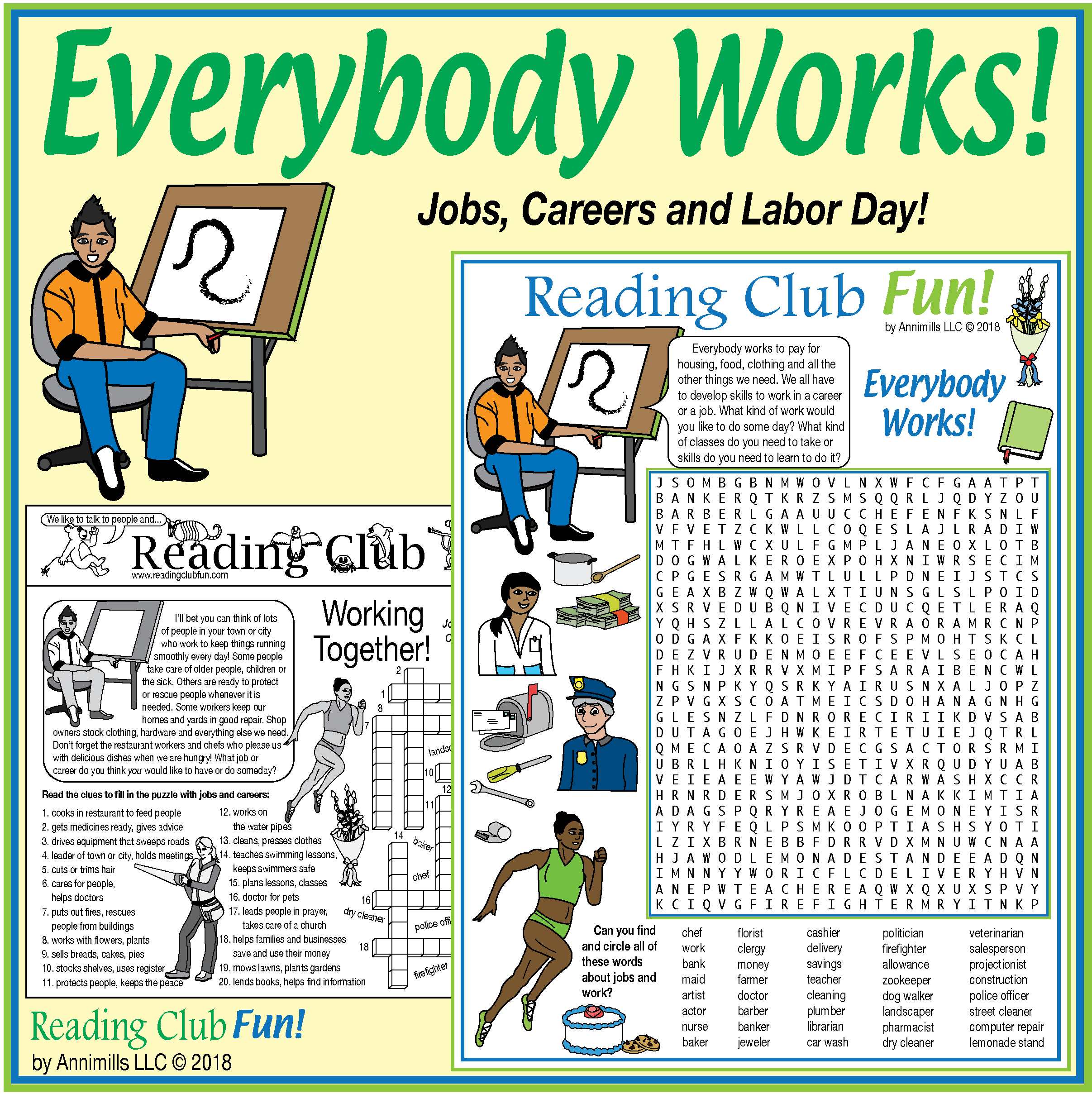 Let S Work Together Jobs Careers And Labor Day