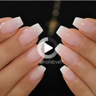 If you want your acrylic look like Natural Nails, Just put simple nude