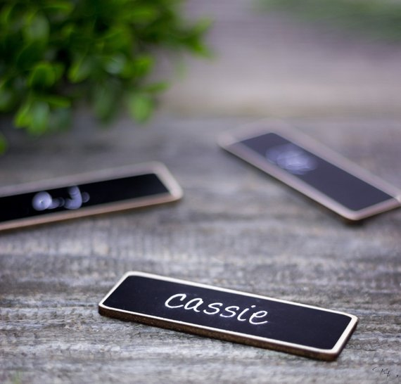 work name tags business name tags 50 chalkboard name tags