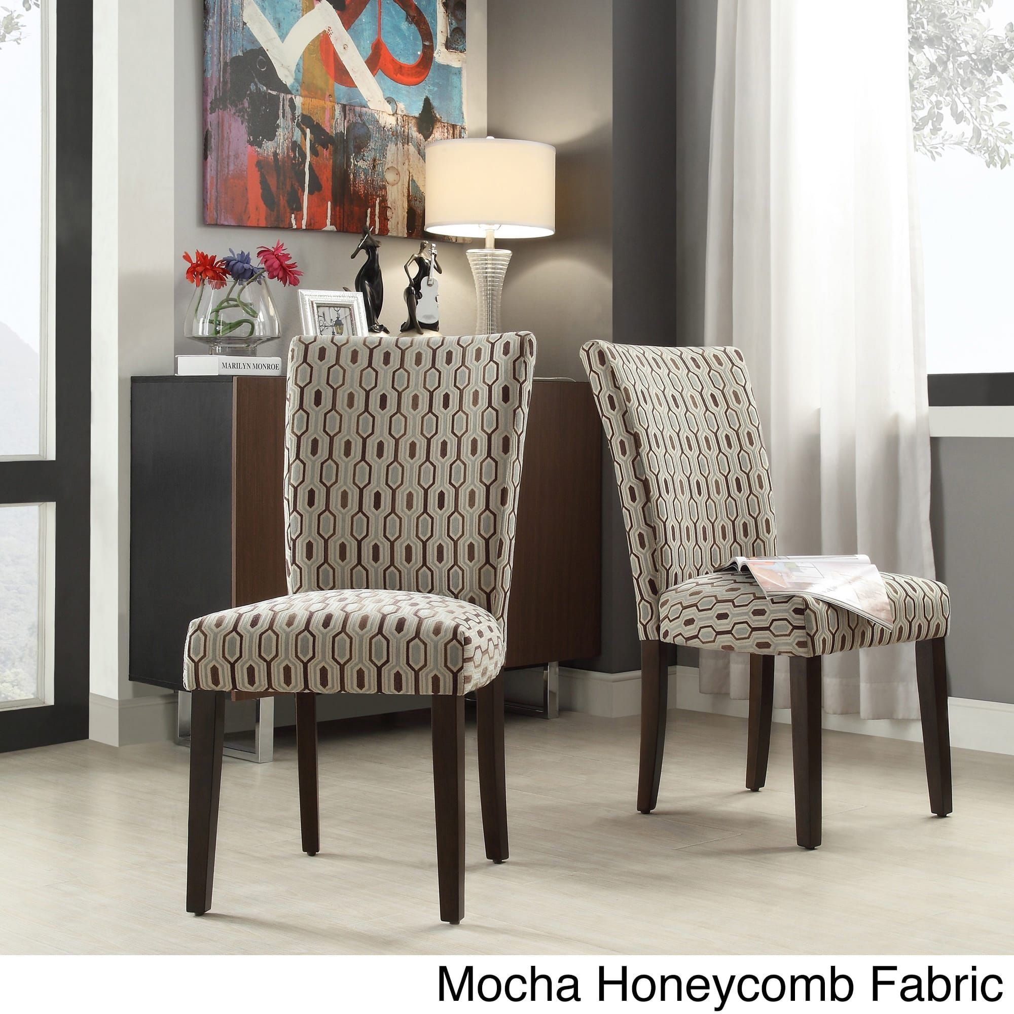 parson tribecca gray of chairs furniture home chenille cupboard overstock set pin com silver