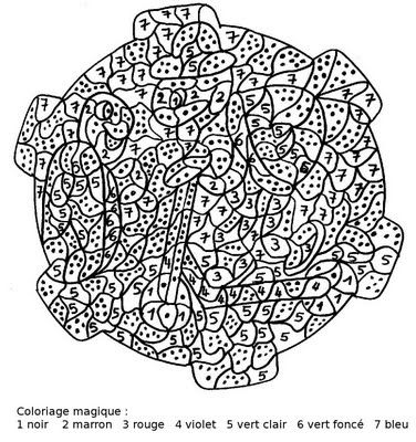 Maternelle coloriage magique tortues coloriage magique pinterest kids colouring school - Coloriage tortue ...