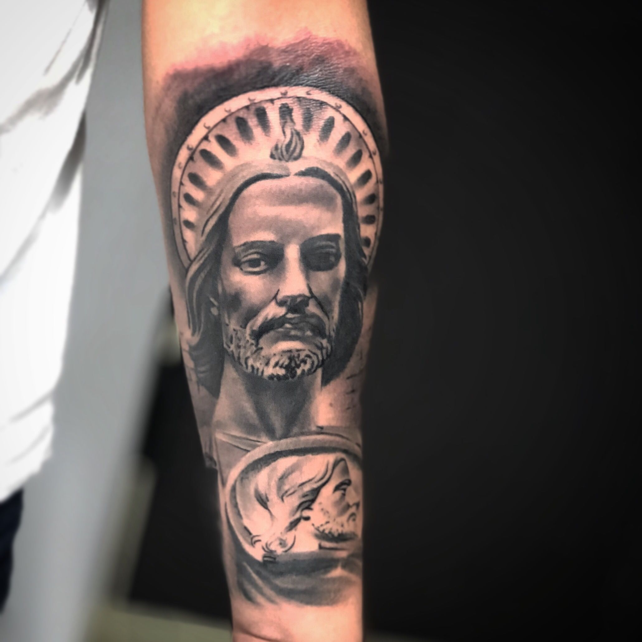 San Judas Tadeo México At Jhonathantattoo Tattoos Tatuajes Coronas