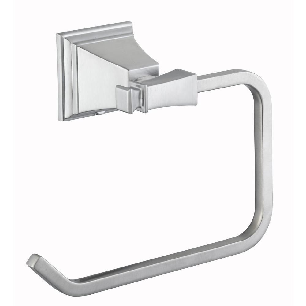 865b2cb523e9a Pegasus Exhibit Towel Ring in Brushed Nickel-714A-0504 - The Home Depot