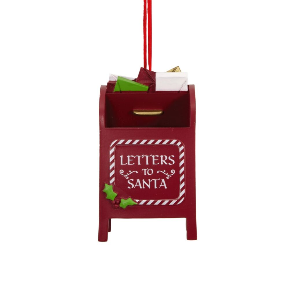 Letters to Santa Mailbox Hallmark Ornament Gift
