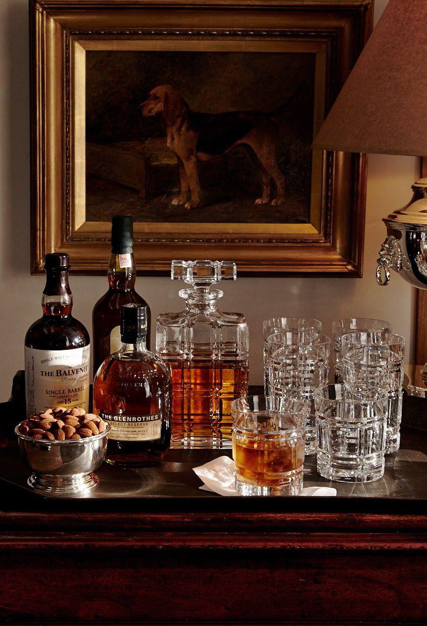 Bar im Landhausstil, Hausbar, Minibar, Massivholz, Vintage Look ...