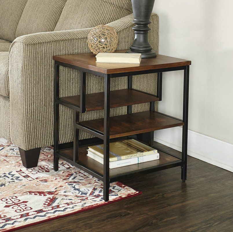Wrought Studio Lino End Table Wayfair End Tables Living Room End Tables Furniture #tall #tables #for #living #room