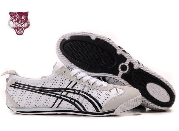 Mens Asics Onitsuka Tiger Mini Cooper Shoes White Black Silver