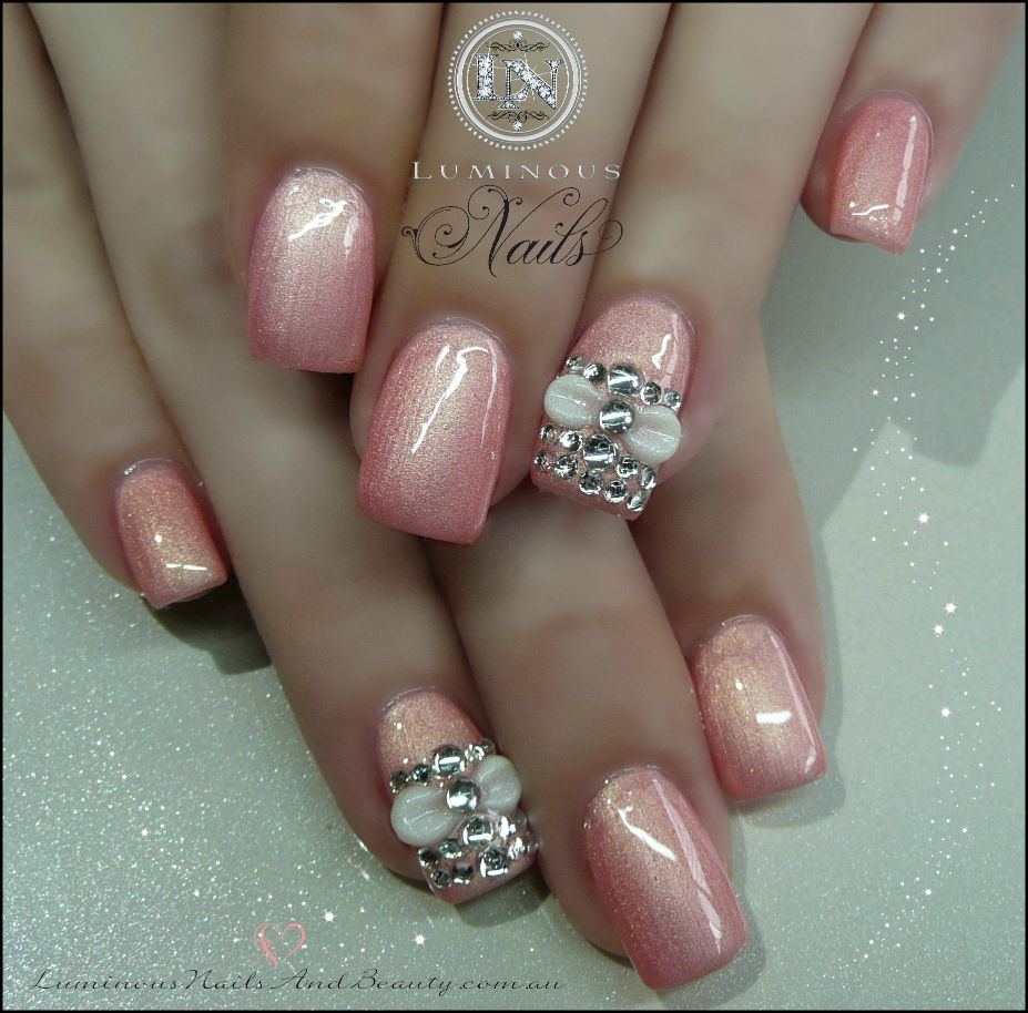 Luminous+Nails+&+Beauty,+Gold+Coast+Queensland.+Acrylic+Overlay+with ...