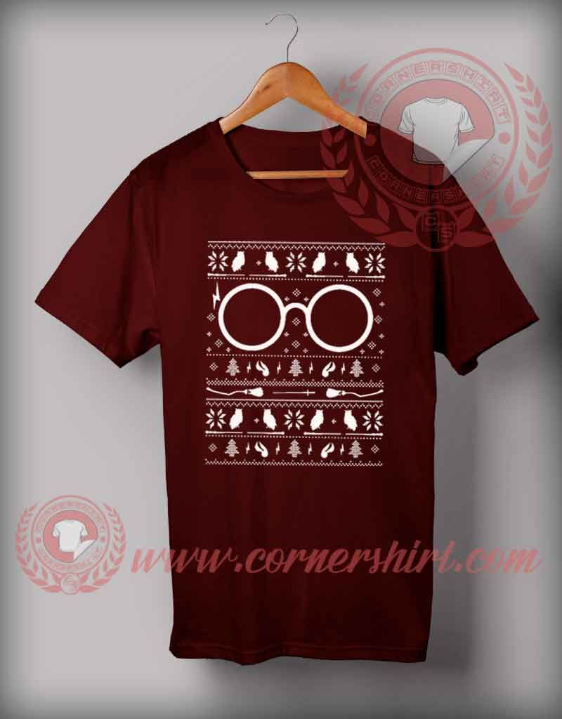 Harry Potter Christmas T shirt Funny Christmas Gifts For Friends ...