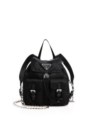 5b22aa83c15b PRADA Vela Mini Crossbody Backpack. #prada #bags #nylon #backpacks ...
