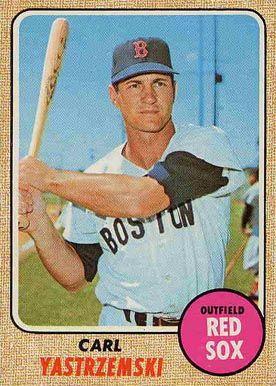 1968 Topps Carl Yastrzemski 250 Baseball Card Value Price Guide