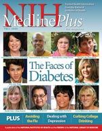 The Cover of the Fall 2009 issue of medlineplus magazine