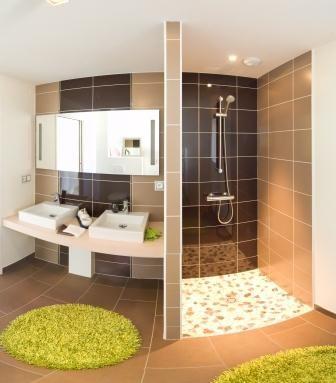La salle de bains vue par Alliance Construction pour sa maison - qu est ce qu une maison bioclimatique