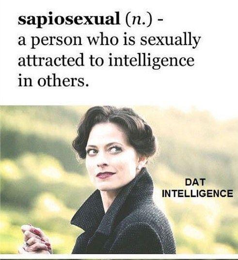 Opposite of sapiosexual