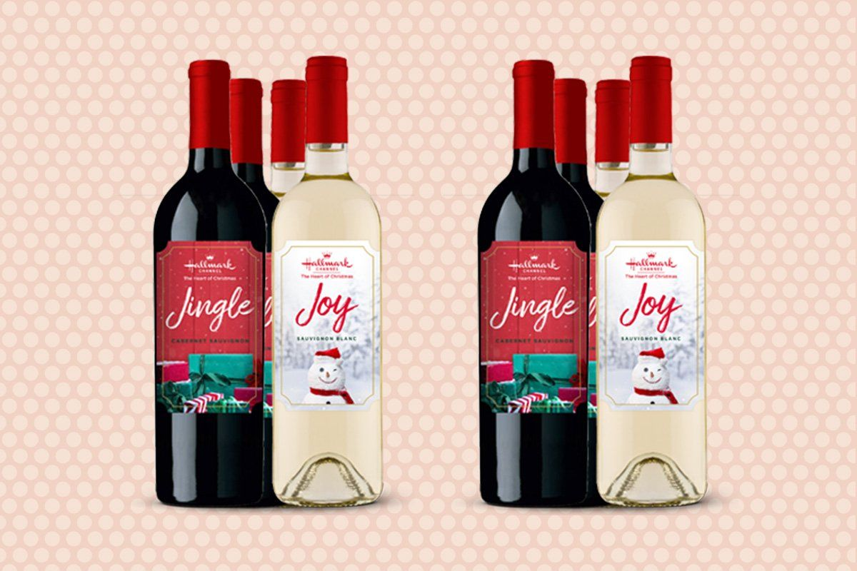 Hallmark Is Launching Christmas Themed Wine And It S Available For Preorder Right Now In 2020 Homemade Peanut Butter Cups Christmas Themes Homemade Crackers