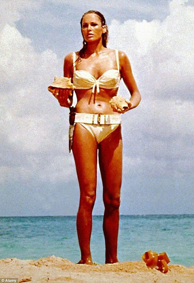 Pin on B - Ursula Andress