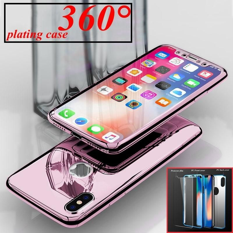 f70e1a25f44 มาใหม่เคสไอโฟน New 360 Mirror Phone Case For iPhone XS …   #เคสซัม ...