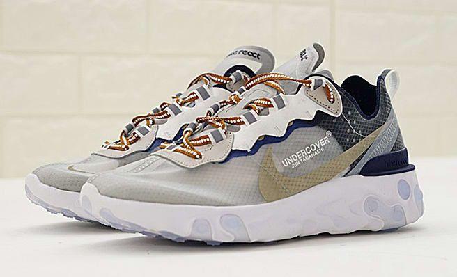 online tutaj oferować rabaty słodkie tanie Undercover x Nike React Element 87 AQ1813-343 | Sneakers ...