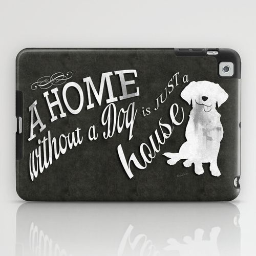 Home with Dog iPad Mini Case by Roboz - $60.00