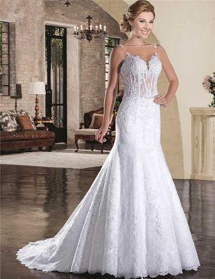 Vestidos de novia encajes ¡16 Maravillosas Tendencias en Outfits de Bodas! - Somos Novias