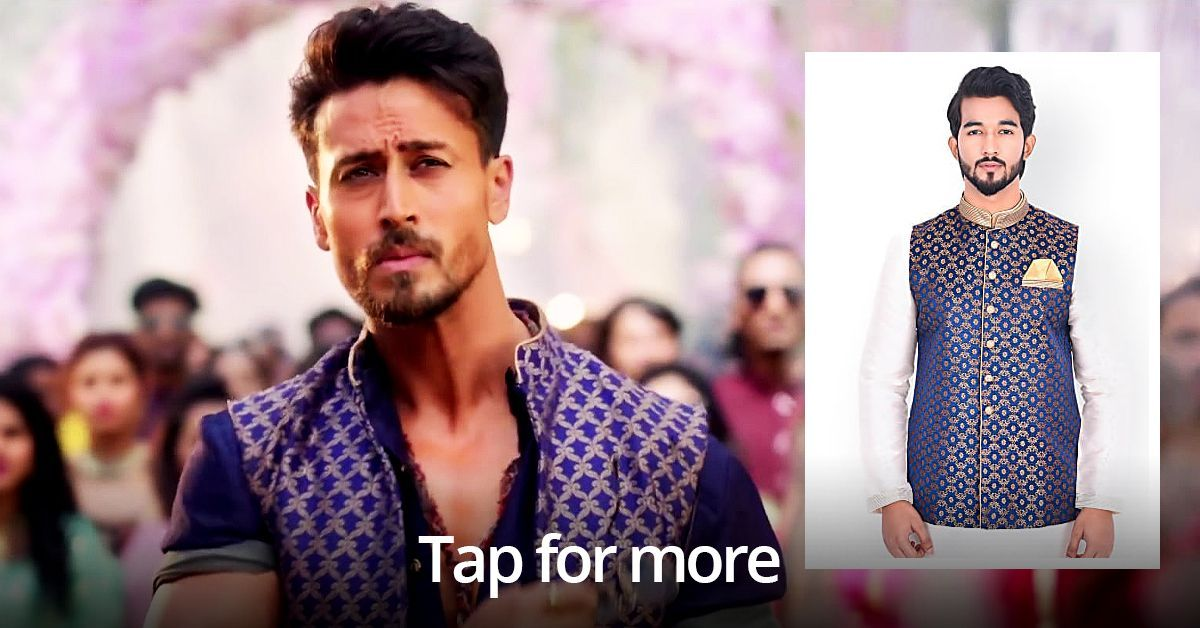 Tiger Shroff S Outfit Will Make You The Most Handsome Shaadi Guest
