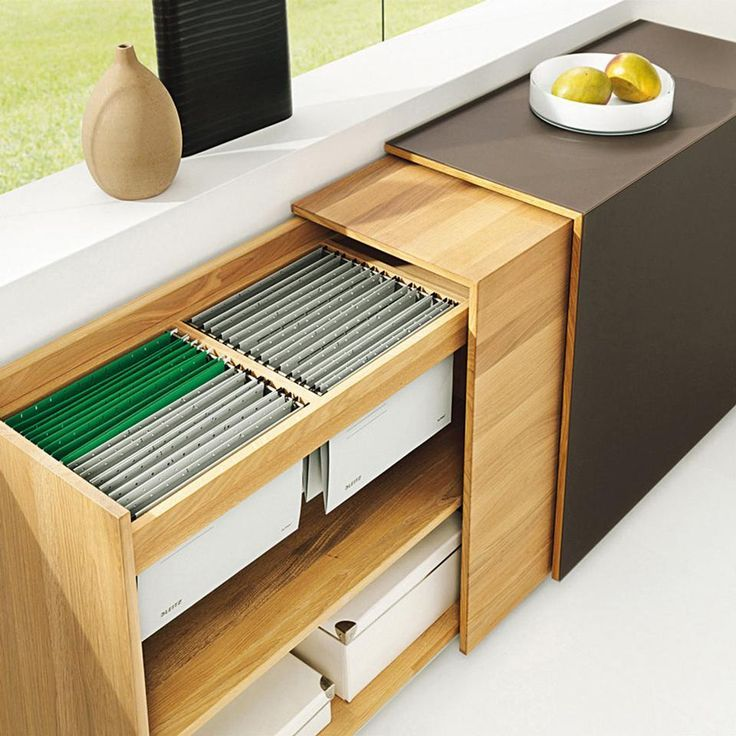 Clever File Storage For An Office Office Storage Cabinets Home