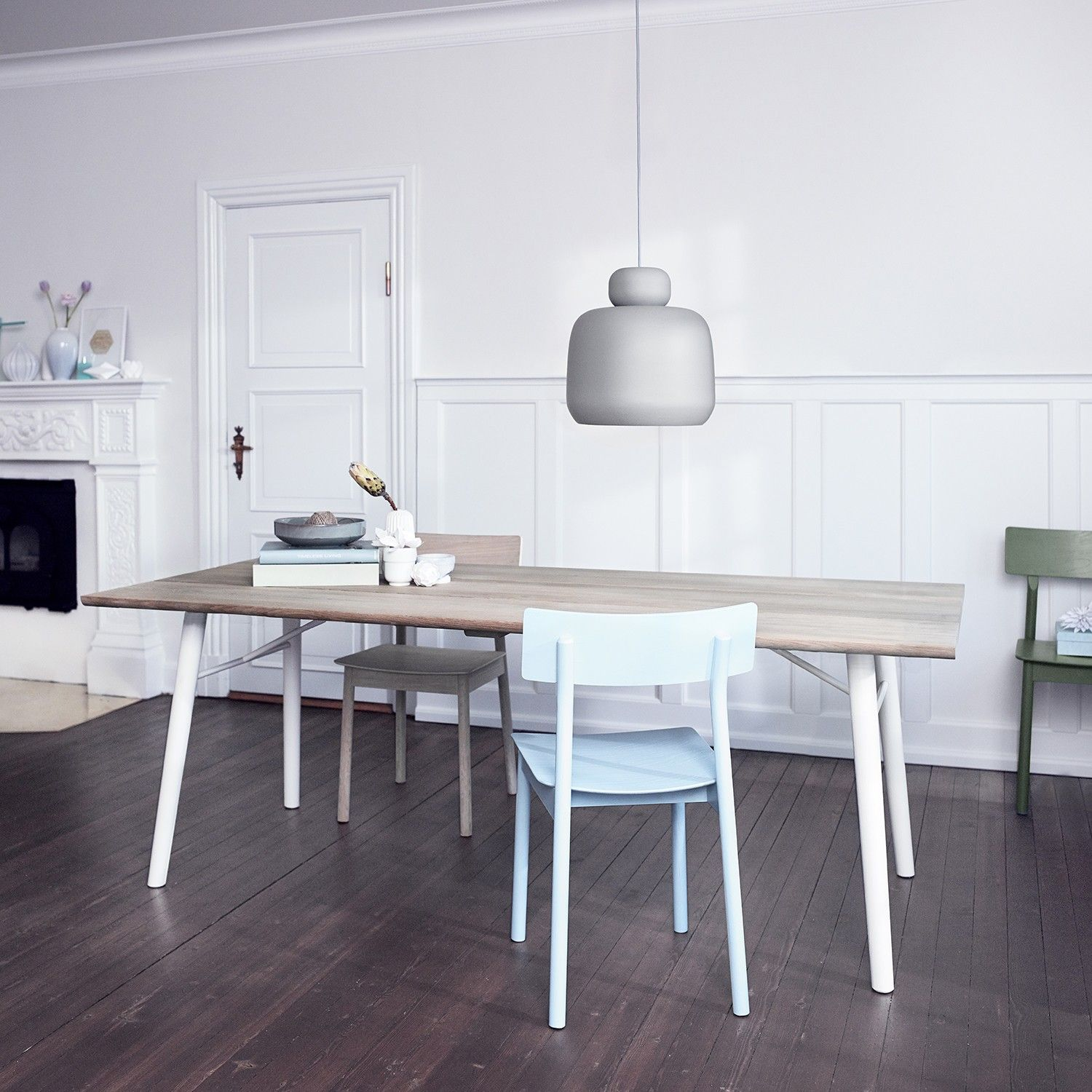 The Split Dining Table is a Scandinavian interpretation of a plank table. http://www.yliving.com/woud-split-dining-table.html