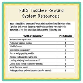 pbis teacher reward system resources simple gifts pinterest reward system reward. Black Bedroom Furniture Sets. Home Design Ideas