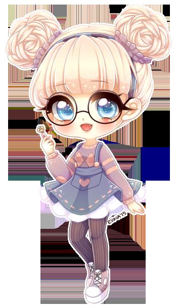 Cute Little Girl Desenhos Kawaii Bonequinhas Kawaii Kawaii