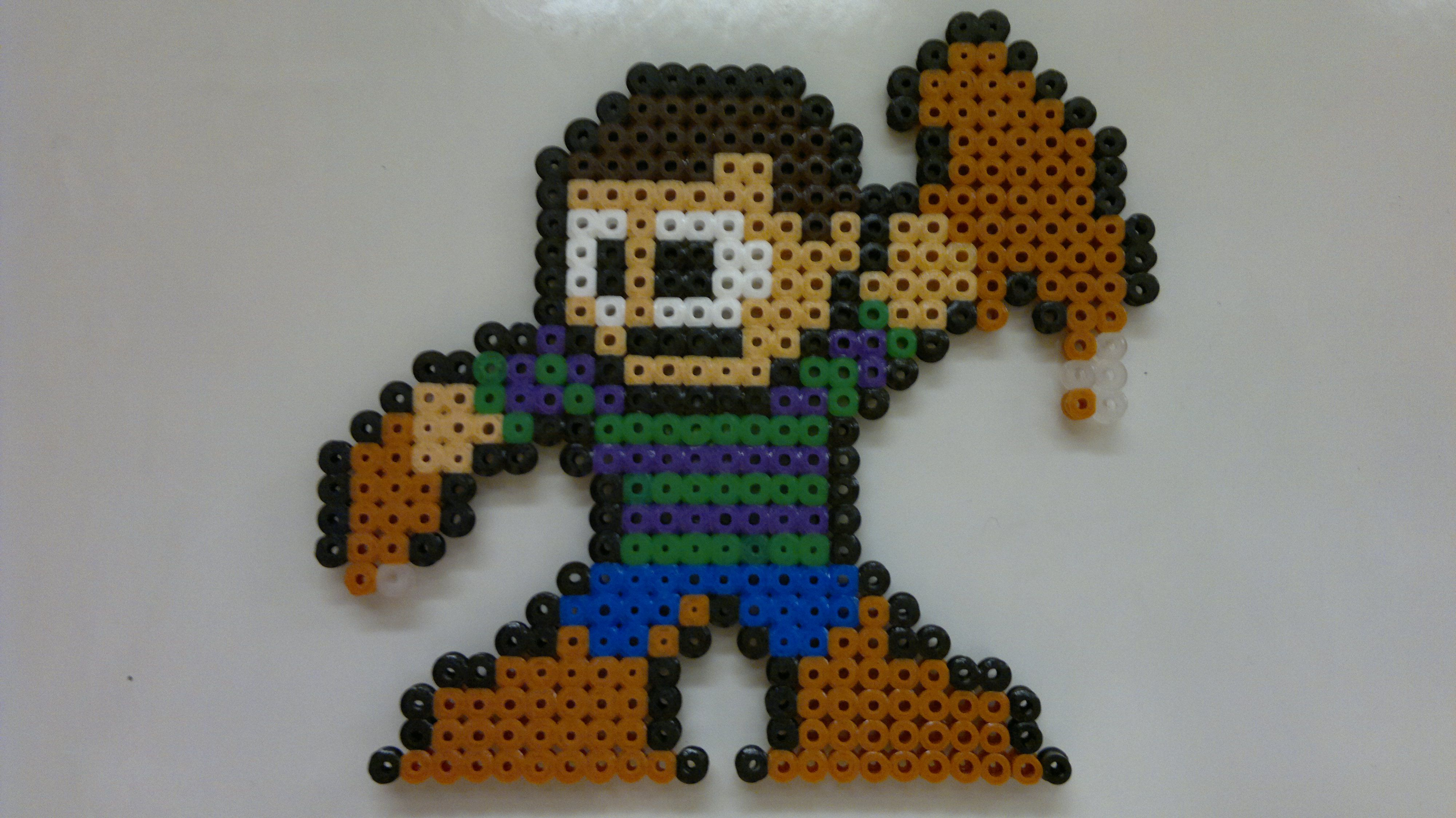 Hama Beads Spiderman: Mega Man Style Perler Beads