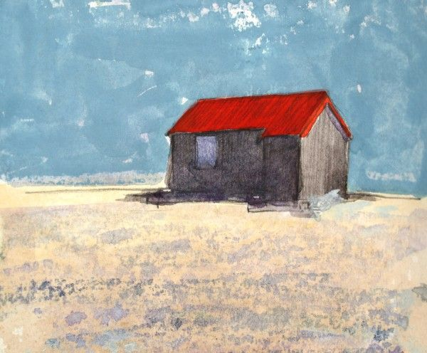 'Hut, Rye Harbour' by James Robson