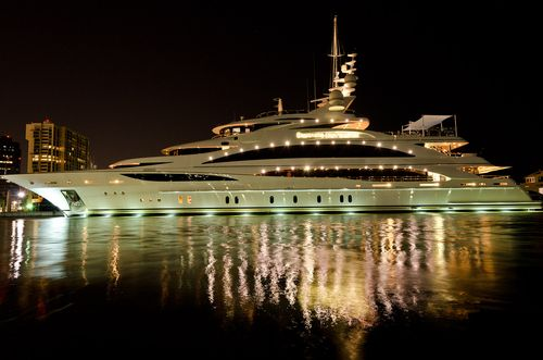 Fabulous.. Yachting in the evening