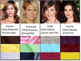 Resultado de imagem para analise de coloração pessoal