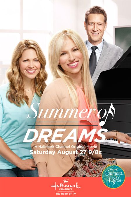 """Its a Wonderful Movie - Your Guide to Family Movies on TV: """"Summer of Dreams"""", a Hallmark Channel Original """"Summer Nights"""" Movie starring Debbie Gibson"""