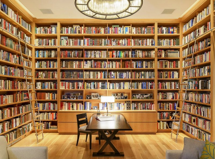 Charmant Home Office Library Design Ideas