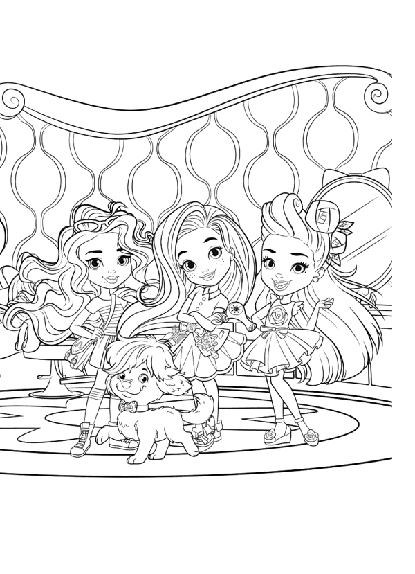 84 Hairdorables Coloring Book Best HD