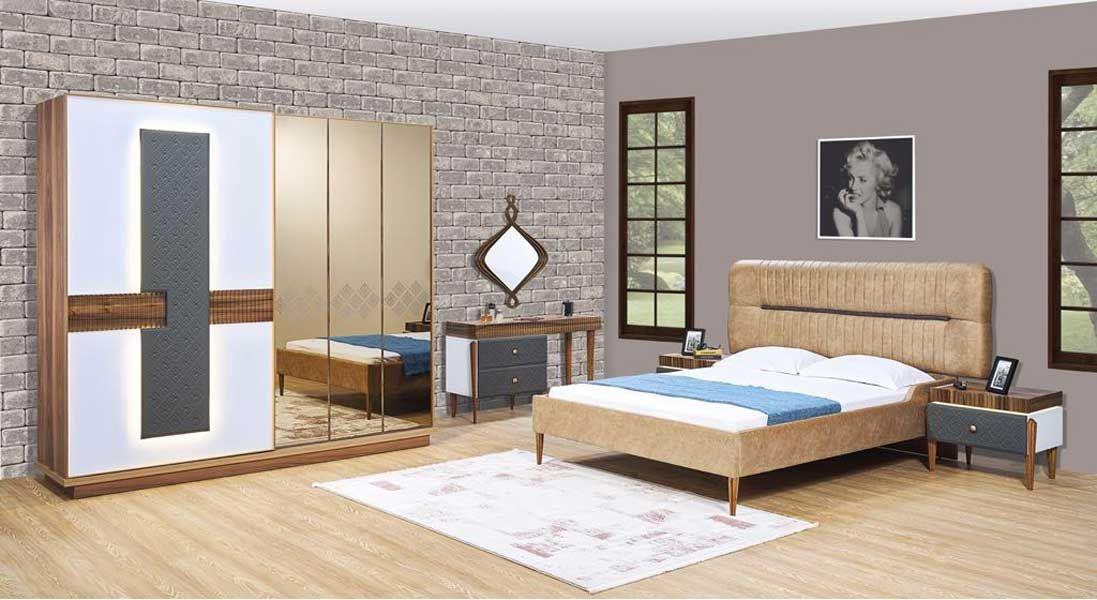 tezel royal yatak odasi takimi bej oturma odalari mobilya fikirleri mobilya