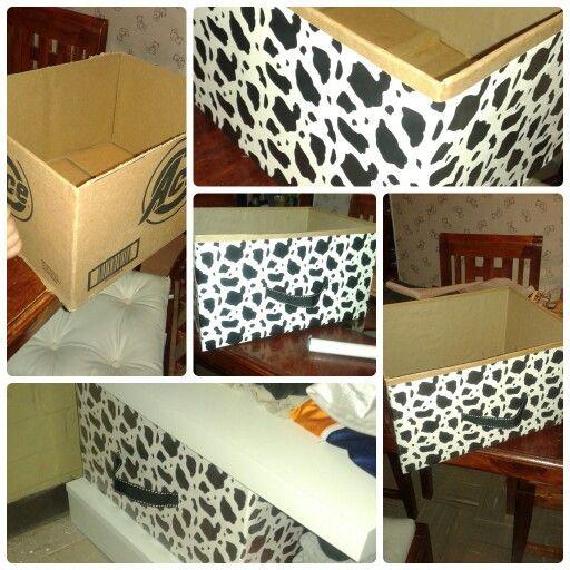 Caja organizadora de cartón