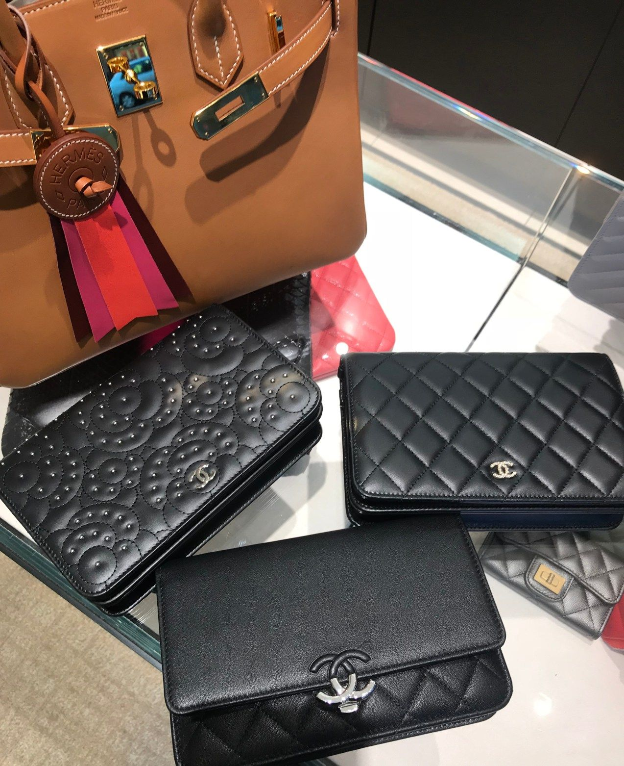 007b6e15173 PurseBop closely investigates the Chanel WOC and SLG price increase for  2018. This just weeks after the classic flap increase in Nov and pricing  confusion.